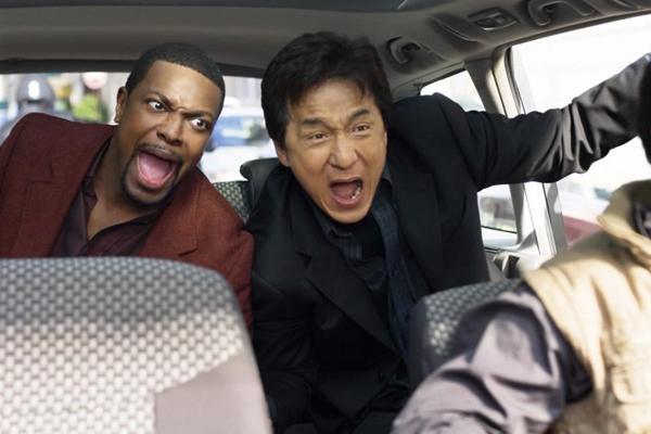 Chris Tucker e Jackie Chan em cena do filme A Hora do rush 3 (Playarte/Divulgação)
