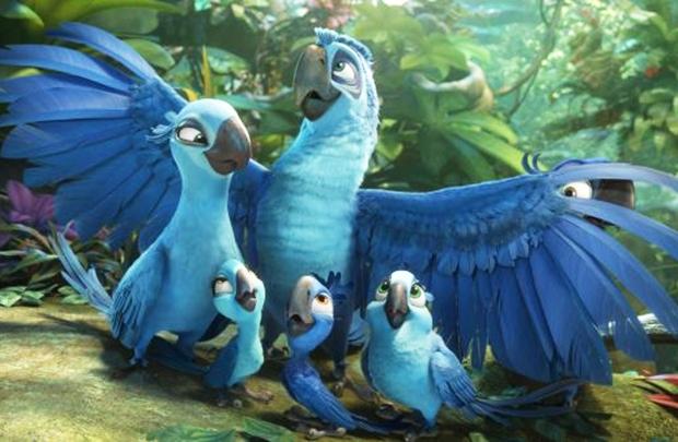 A devastação da floresta amazônica é um dos temas abordados na animação (Fox/Divulgação)