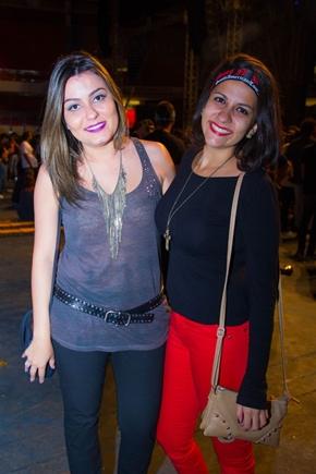 Ana Sabina e Andrea Pinheiro (Romulo Juracy/CB/D.A Press)