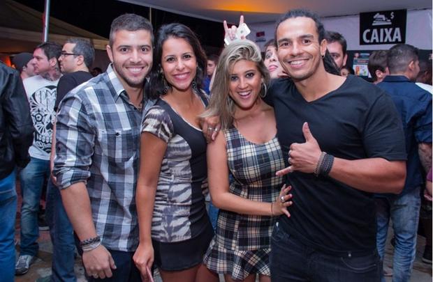 Lucas Nobre, Fernanda Fiquene, Júlia Guedes e Gabriel Labanca (Rômulo Juracy/Esp. CB/D.A Press)