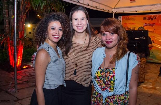 Ingrid Soares, Nathália Cardoso e Camila Fernandes (Rômulo Juracy/Esp. CB/D.A Press)