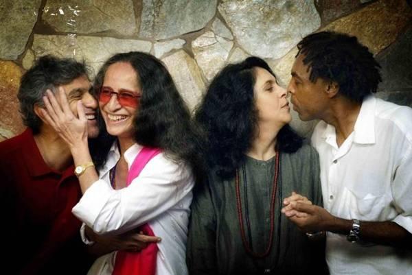 Grupo musical formado por Caetano Veloso, Maria Bethania Gal Costa e Gilberto Gil (Leonardo Aversa/Agencia O Globo)