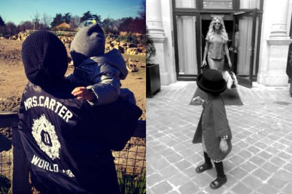 Imagens foram tiradas no zoológico e fazendo compras ( Tumblr/Reprodução)