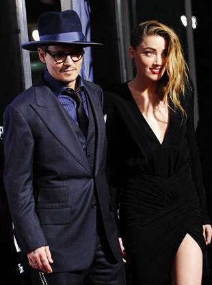 Jhonny Depp e Amber Herad (Facebook/Reprodução)