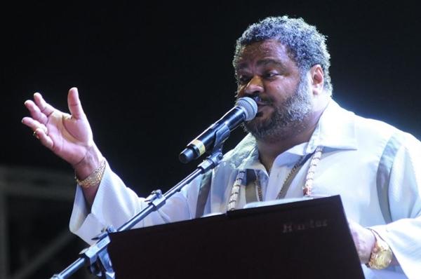 Apresentação do cantor Arlindo Cruz  (Carlos Moura/CB/D.A Press)