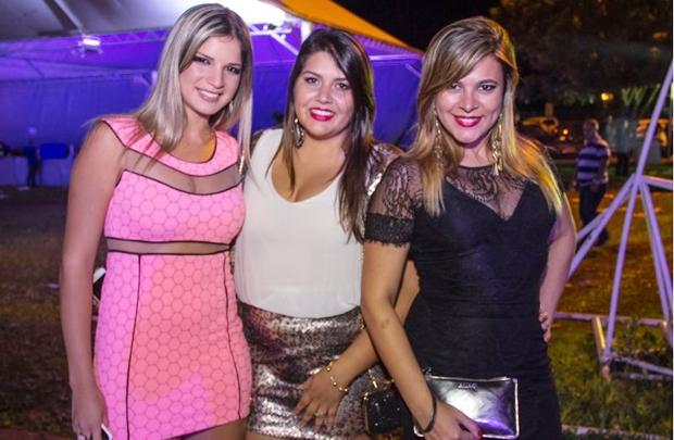 Juliana Fontenele, Fernanda Tarabaika e Amanda Latif (Rômulo Juracy/Esp. CB/D.A Press)