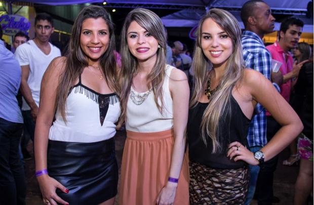 Fernanda Castro, Samara Beatriz e Bárbara Canuto (Rômulo Juracy/Esp. CB/D.A Press)