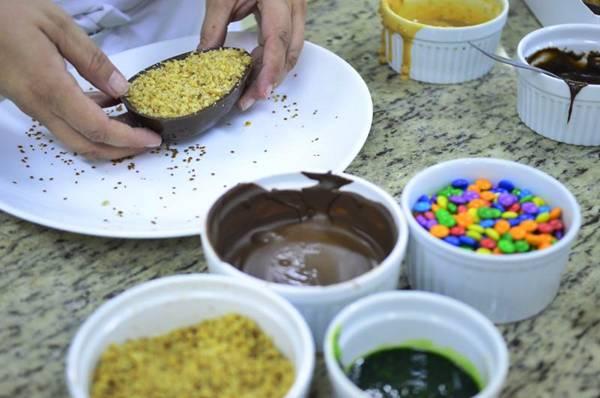 Anna Paula Caribé ensina receitas de ovos de Páscoa com, no máximo, cinco ingredientes  (Daniel Ferreira/CB/D.A Press)