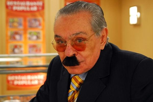 O humorista Chico Anysio será homenageado por amigos e parentes  (Alex Carvalho/TV Globo)