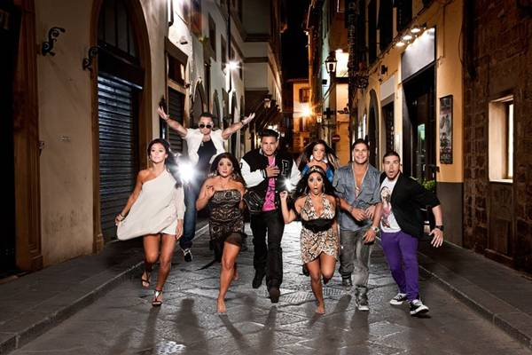 Com foco no público jovem, Jersey shore fala sobre relacionamentos entre amigos  (MTV/Divulgação)