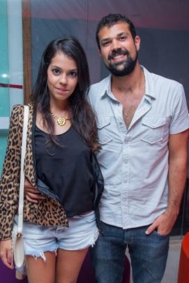 Caroline Siqueira e Mauro Bugarim (Rômulo Juracy/Esp. CB/D.A Press)