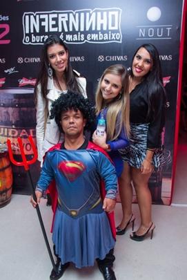 Gabriela Furquim, Lucile Alvares, Luiza Miranda e o Gigante (Rômulo Juracy/Esp. CB/D.A Press)