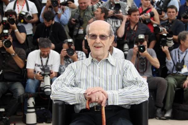 O decano mundial dos cineastas, Manoel de Oliveira (Valery Hace/AFP Photo)