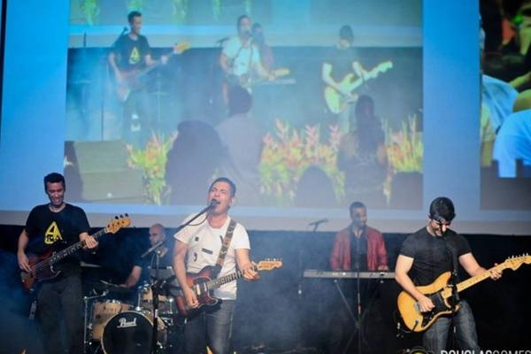 Banda brasiliense Magoo (Douglas Gomes/Divulgação)