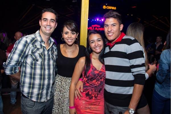 George Motta, Caroline Santos, Joyce e Diego Santos (Rômulo Juracy/Esp.CB/D.A Press)