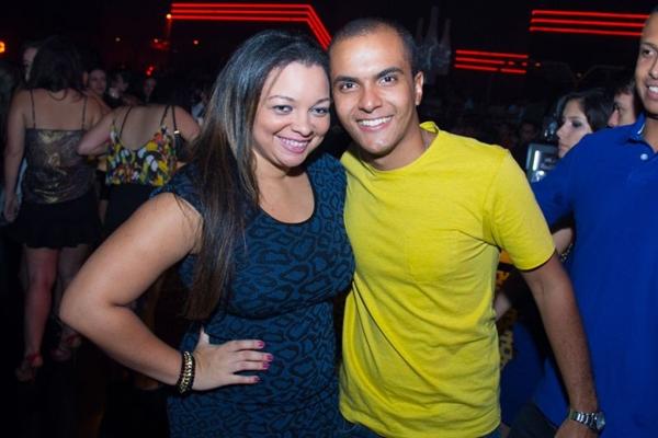 Aloma Mendes e Thiago Rodrigues (Rômulo Juracy/Esp.CB/D.A Press)
