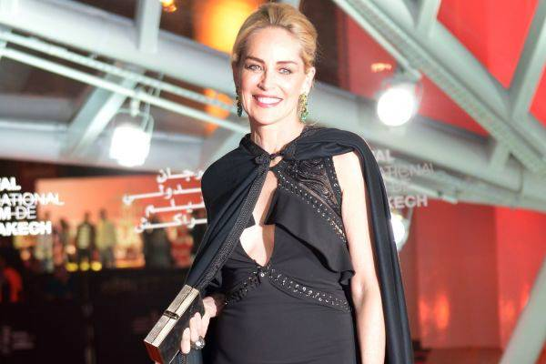 Atriz Sharon Stone (Fadel Senna/AFP Photo)