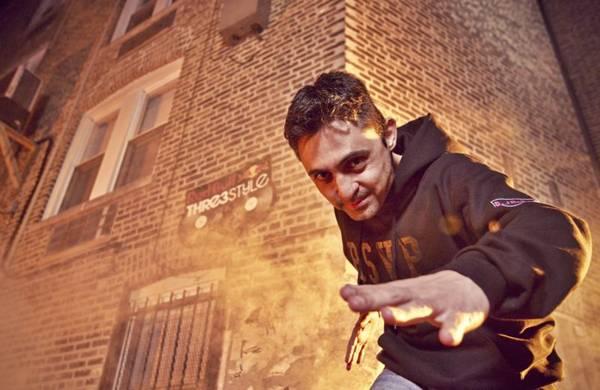 DJ Nedu Lopes se apresenta no evento (Red Bull Chicago/Divulgação)