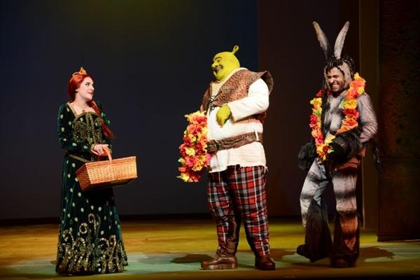 O romance de Shrek e Fiona é contado com a participação de uma orquestra  (Marcos Mesquita/Divulgação)