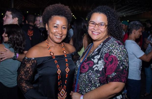 Simone Cristal e Lina Pires  (Romulo Juracy/Esp. CB/D.A Press)