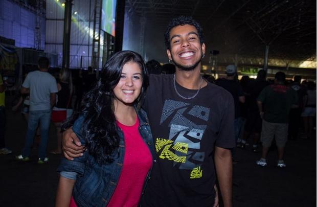 Ana Paula Castro e Gabriel Regis (Romulo Juracy/Esp. CB/D.A Press)