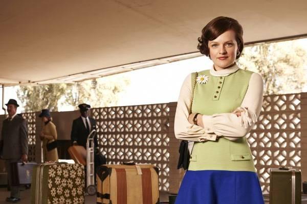 Peggy Olson se destaca em profissão até então dominada por homens (AMC/Divulgação)