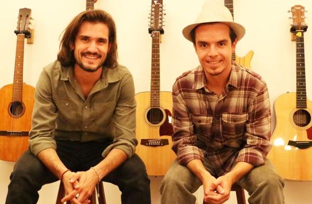 Músicos Rafael Monte Rosa e Felipe Bittencourt ( Avelino Ottoni/Divulgação)