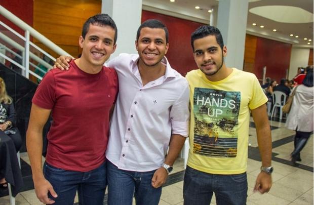 Rafael de Oliveira, Lucas Costa e Caio Augusto (Romulo Juracy/Esp. CB/D.A Press)