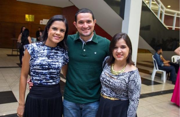 Valéria Carvalho, Pedro Ernesto e Sofia Laurentino (Romulo Juracy/Esp. CB/D.A Press)