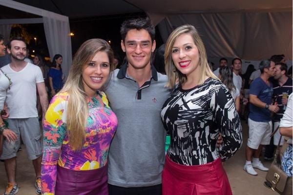 Eduarda Pedroso, João Lúcio Cendron e Gabriela Moreno (Romulo Juracy/Esp. CB/D.A Press)