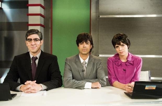 O programa  apresenta de forma leve algumas críticas a televisão brasileira  (João Miguel Júnior/Tv Globo)