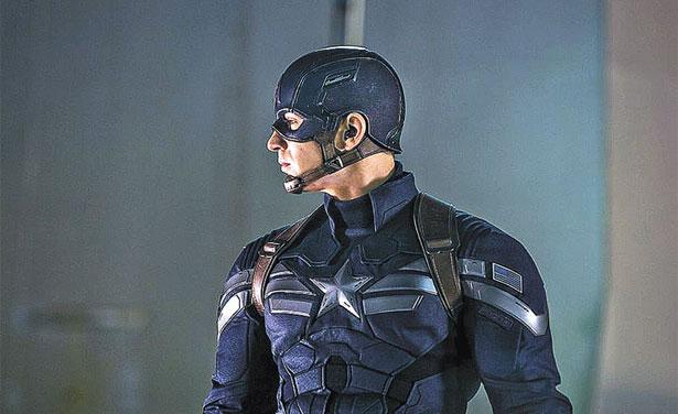 O novo filme do Capitão América, herói da Marvel, desbanca Rio 2 (Disney/Divulgação)