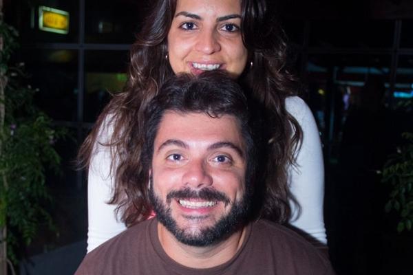 Fernando Pachiega e Monica Ribeiro (Romulo Juracy/Esp. CB/D.A Press)
