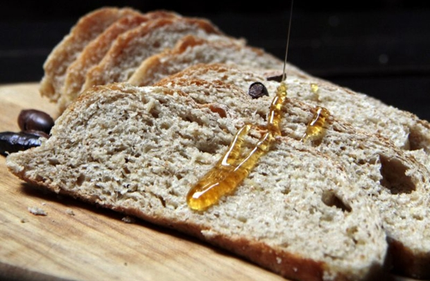 O pão com frutas do cerrado, da padaria La Boulangerie, foi uma das iguarias criadas (Ana Rayssa/Esp. CB/D.A Press)
