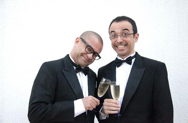 Ricardo Pipo e Welder Rodrigues comandam o projeto Jogo de Cena  (Adla Marques/Divulgação)