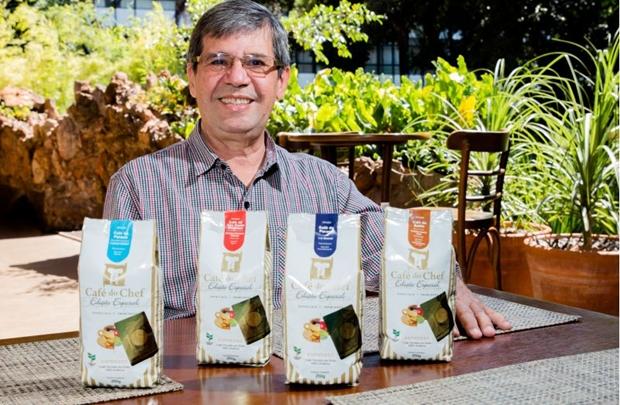 Proprietário do Café do Chef, Jackson Machado  (Rener Oliveira/Divulgação)