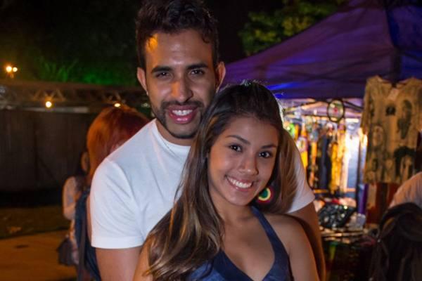 Filipe Araújo e Kamila Silva  (Romulo Juracy/Esp. CB/D.A Press)