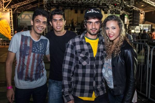 Salomão Duarte, Leonardo Franklin, Igor Santacruz e Cristina Xavier  (Romulo Juracy/Esp. CB/D.A Press)