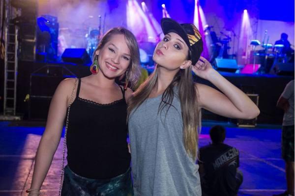 Stephanie Leite e Amanda Marinho  (Romulo Juracy/Esp. CB/D.A Press)