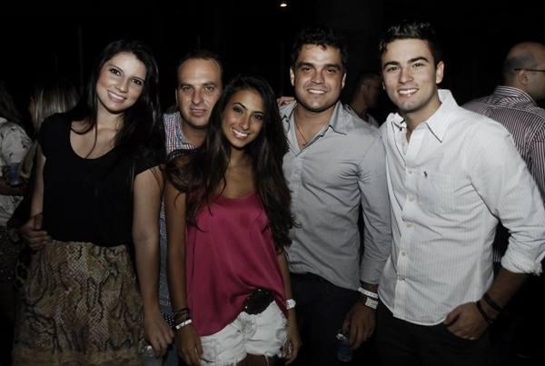 Jéssica, Matheus e Maria Luísa Matos, Gabriel Rocha e Neto Furtado  (Gustavo Messina/Divulgação)