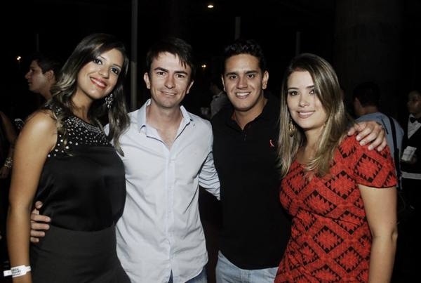 Larissa Arantes, Euler Fernandes, Thiago Jaguaribe e Mariene Knofel (Gustavo Messina/Divulgação)
