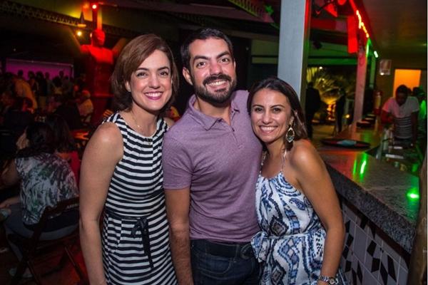 Janini Ginoni, Rafael Ginoni e Kate Sousa  (Romulo Juracy/Esp. CB/D.A Press)