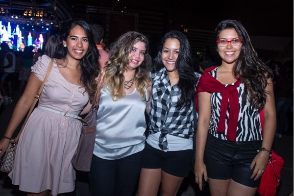 Gabriela Araújo, Priscilla Gama, Raquel Bennet e Mila Campbell  (Romulo Juracy/Esp. CB/D.A Press)