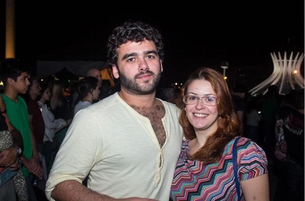 Louis Oliveri e Ana Lídia Fiuza  (Romulo Juracy/Esp. CB/D.A Press)