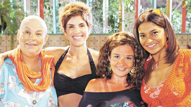 A próxima atração do Viva será 'A diarista', com as 'colegas' Claudia Mello, Helena Fernandes, Claudia Rodrigues e Dira Paes (Tv Globo/Divulgação)