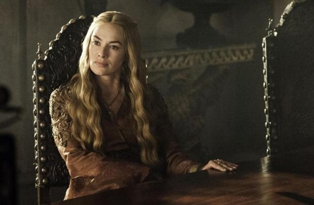 Personagem Cersei Lannister da série Game of Thrones.  (HBO/Divulgação)