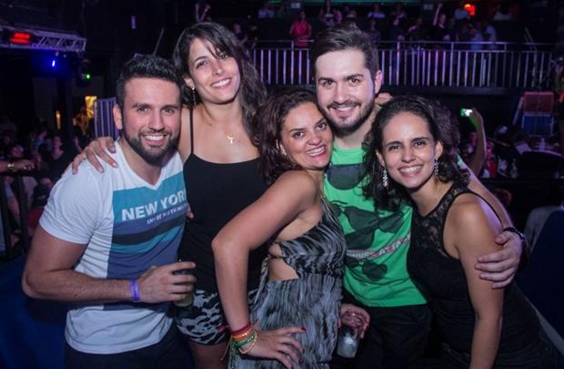 Rafael Mendonça, Renata Roscoe, Daniele Milagres, Anselmo Leite e Camila Barbosa (Rômulo Juracy/Esp. CB/D.A Press)