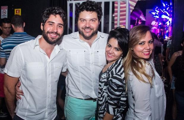 Pedro Henrique, Thiago Barbosa, Marta Gomes e Karine Demarchi (Rômulo Juracy/Esp. CB/D.A Press)
