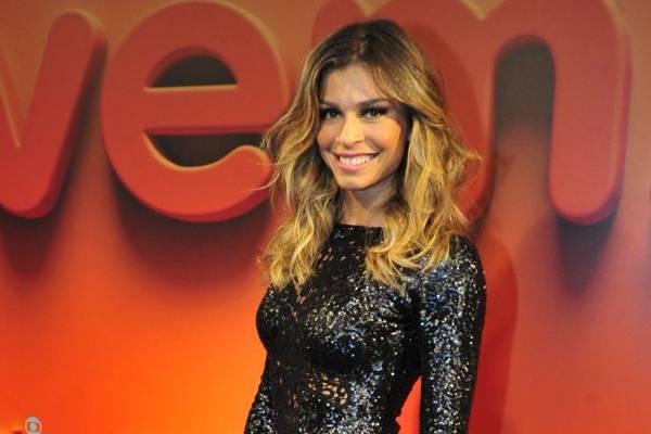 Grazi Massafera substitui Luana Piovani no novo quadro (Alex Carvalho/TV Globo)