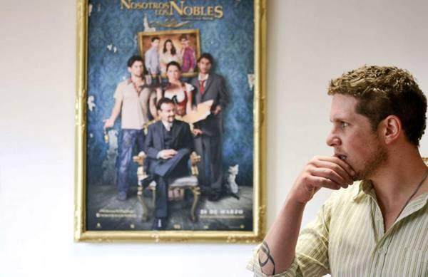 Diretor do filme 'Nosotros los Nobles', Gaz Alazraki (Alfredo Estrella/AFP Photo)